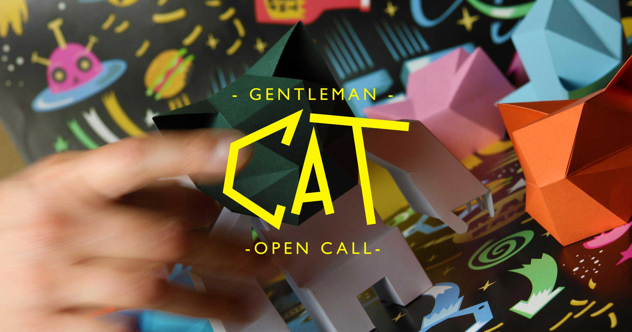 Convocatoria AbiertaGentleman Cat, ilustradores vs el gato